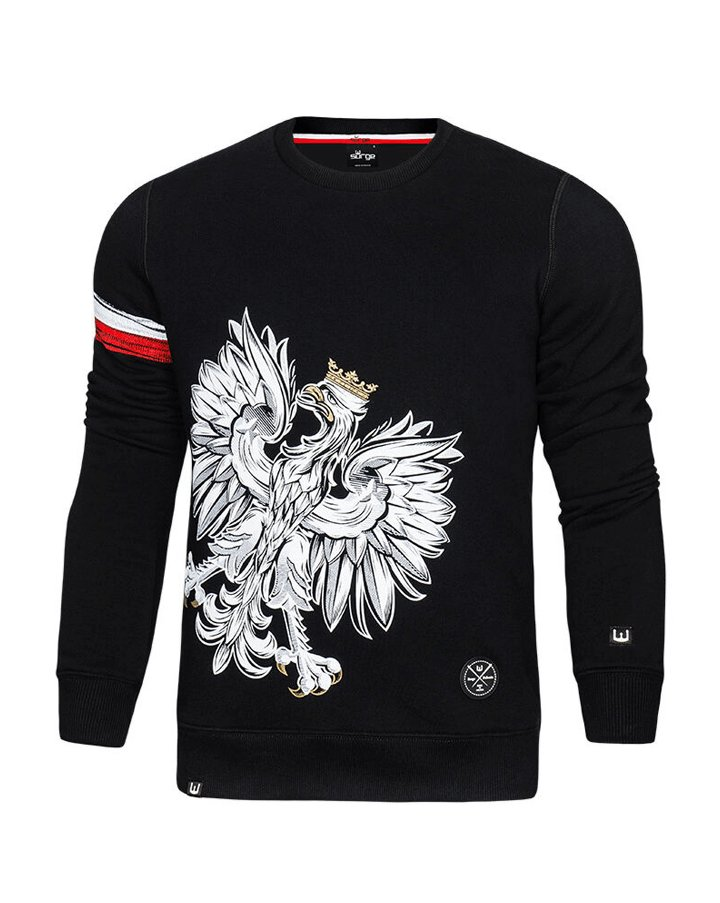 9690b47ad19e SURGE POLONIA - ORZEŁ OPASKA bluza patriotyczna M - 7117591375 ...