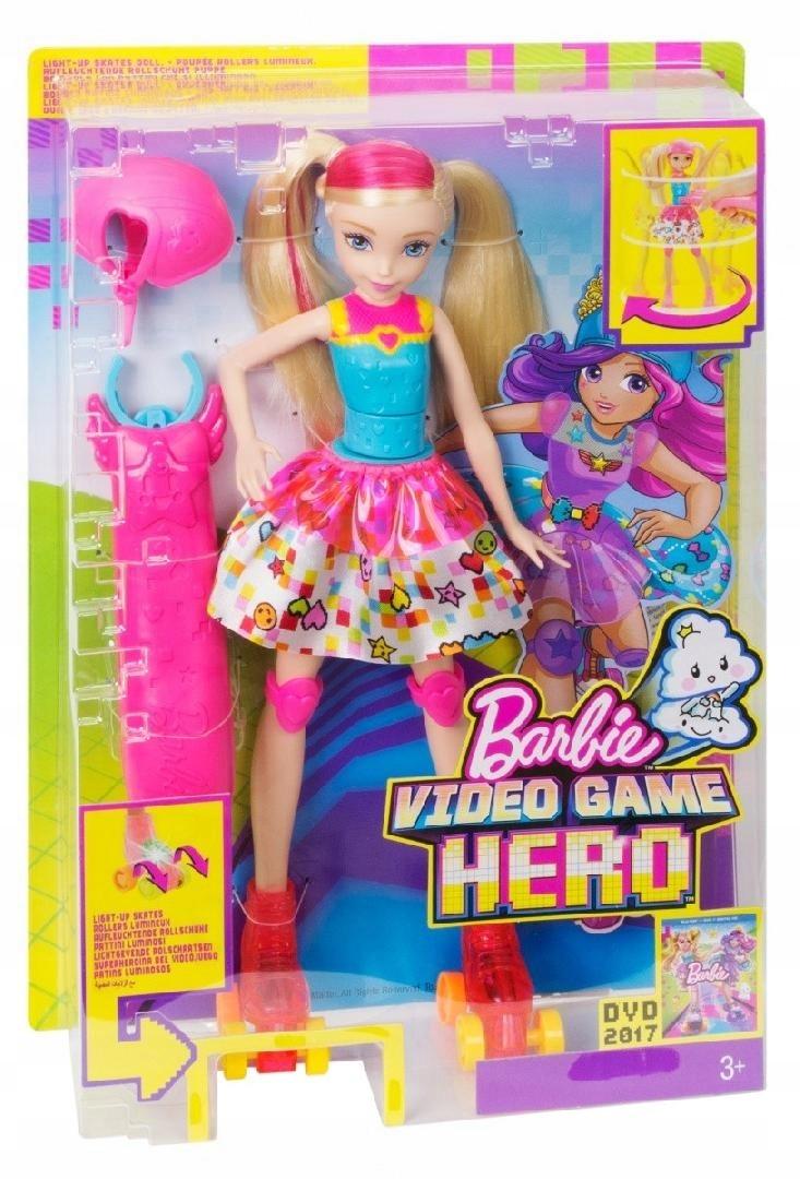 MATTEL BARBIE VGH Barbie na wrotkach