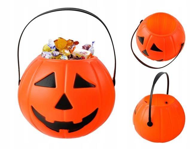 Koszyczek Dynia Doniczka Koszyk Halloween Lampion