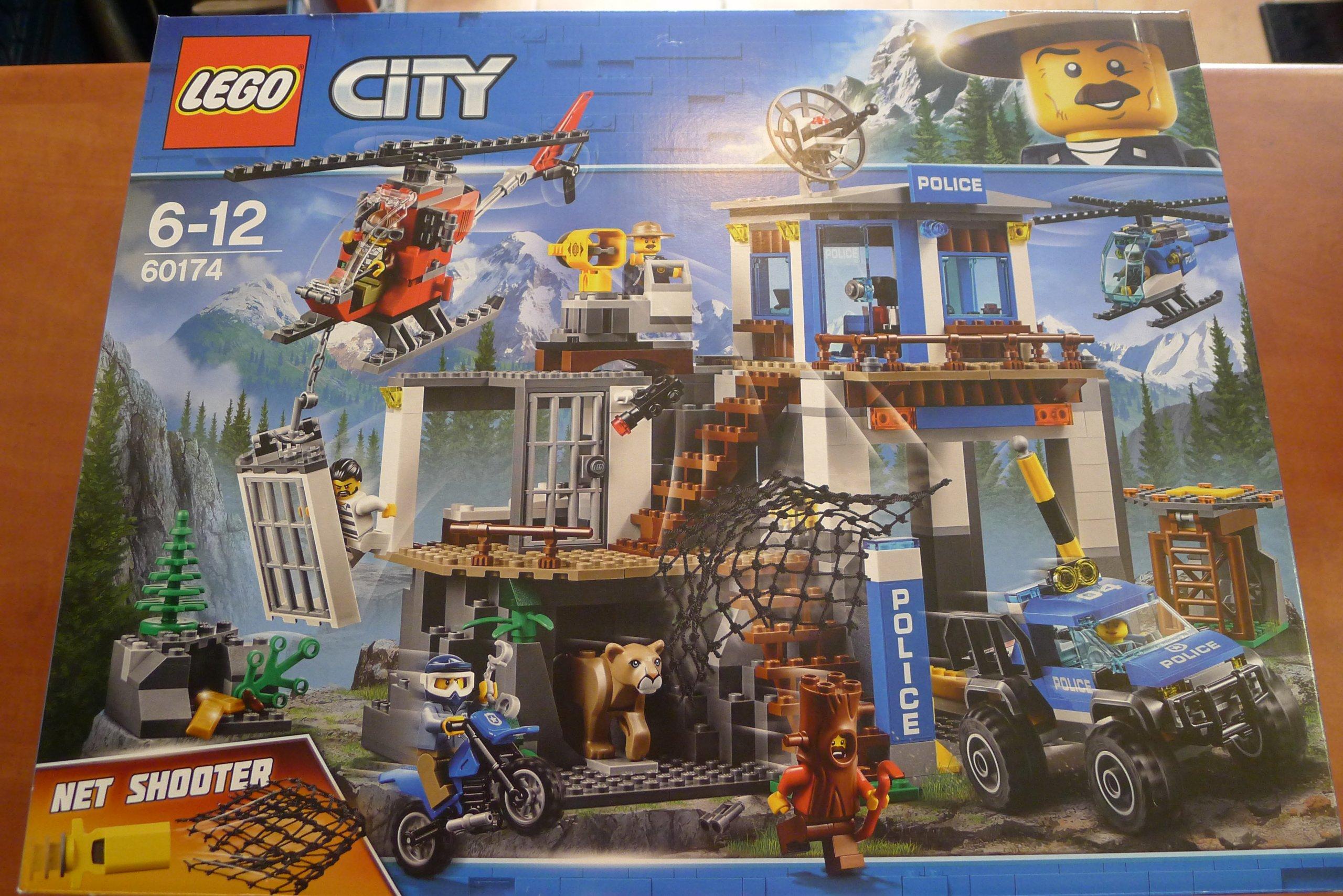 Lego City Górski Posterunek Policji 60174 7411428336 Oficjalne