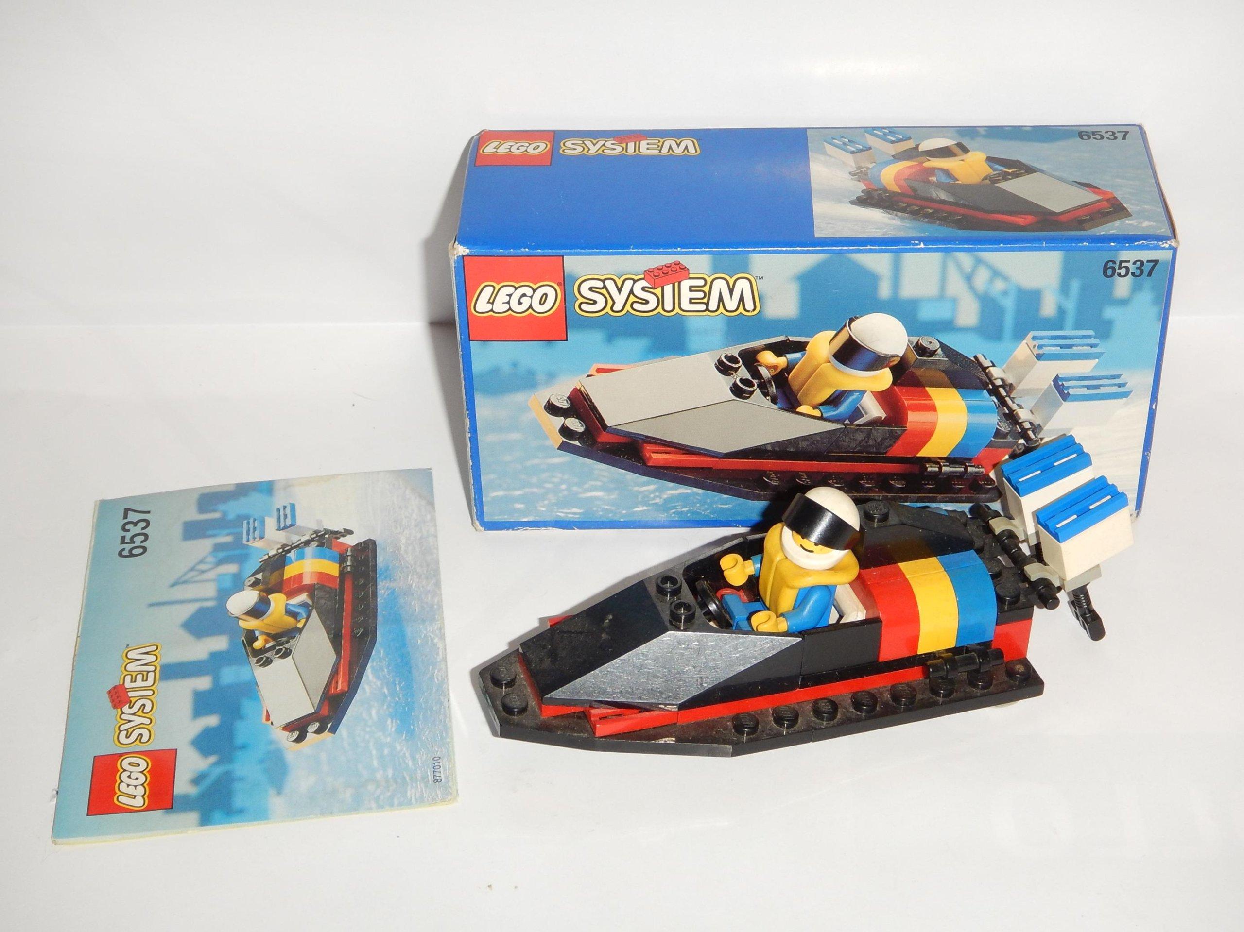 Lego 6537 Hydro Racer Pudełko Instrukcja 7221033091 Oficjalne