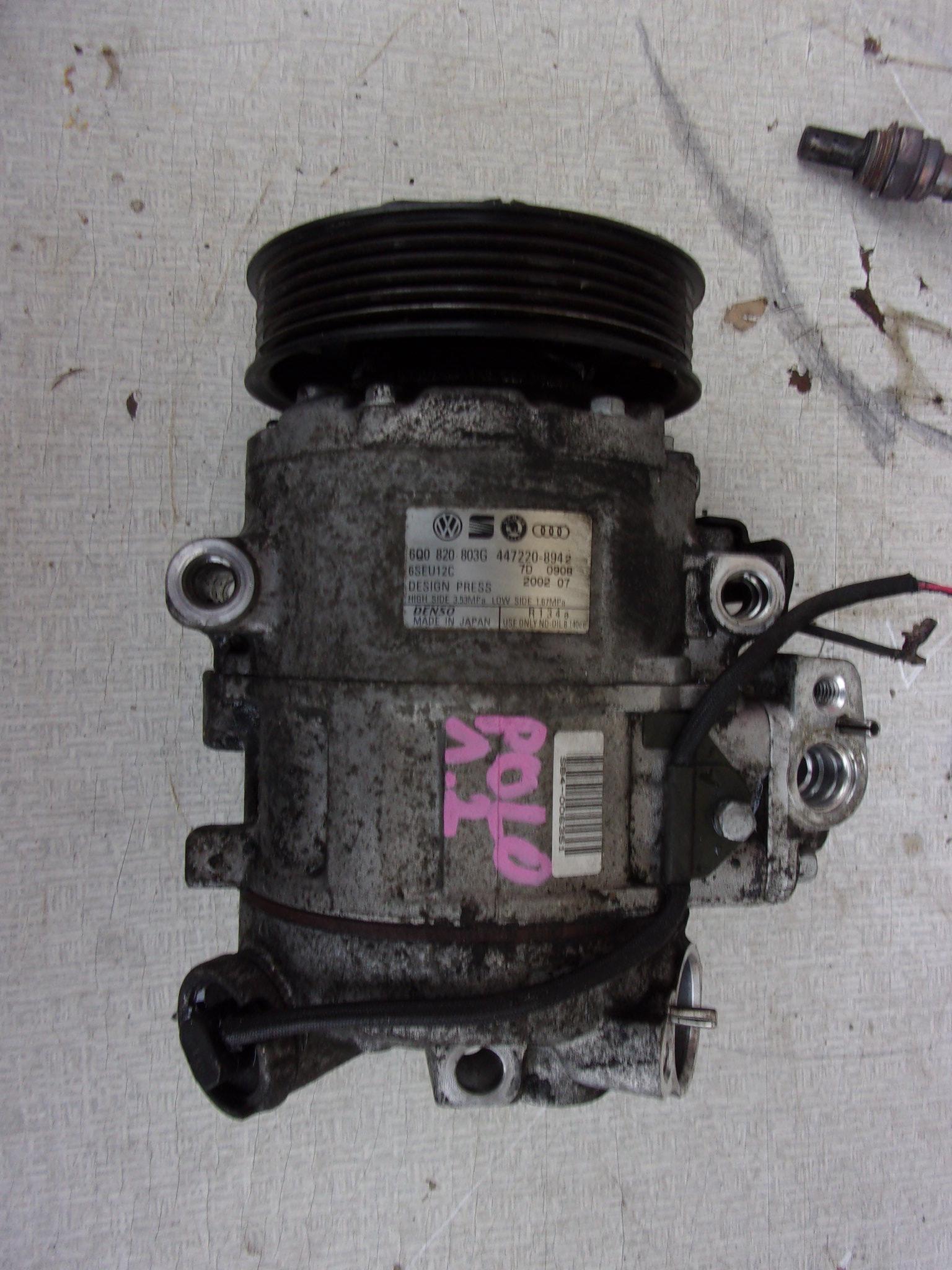 Kompresor Vw Polo 9n 12 12v 5d Eu 6q0820803g 7204437813 Denso