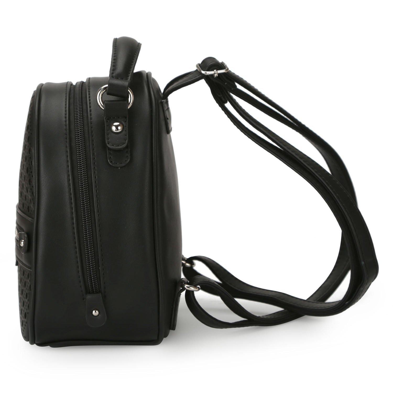 84bab54042a99 Plecak DAVID JONES ażurowy mały czarny BLOGERSKI - 7287419093 ...