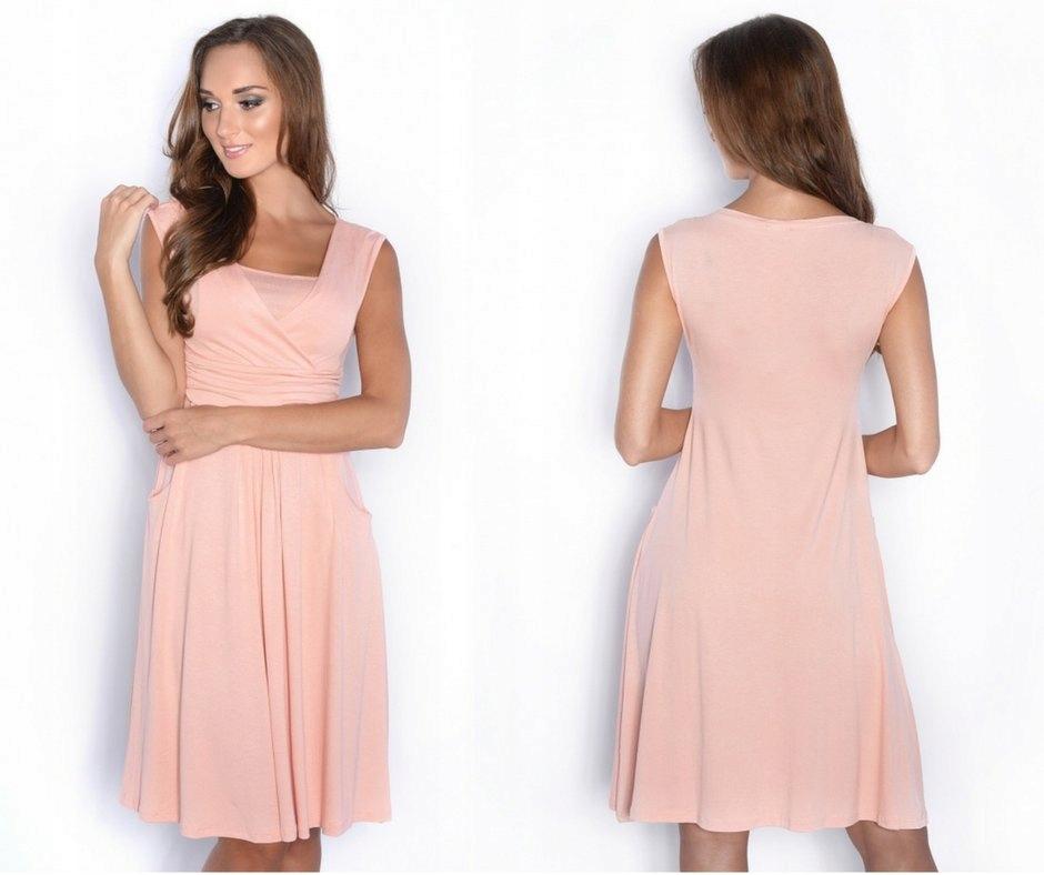 0b46edd7b5 Piękna sukienka ciążowa