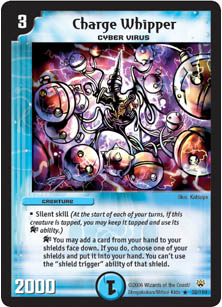 *DM-10 DUEL MASTERS - CHARGE WHIPPER - !!!