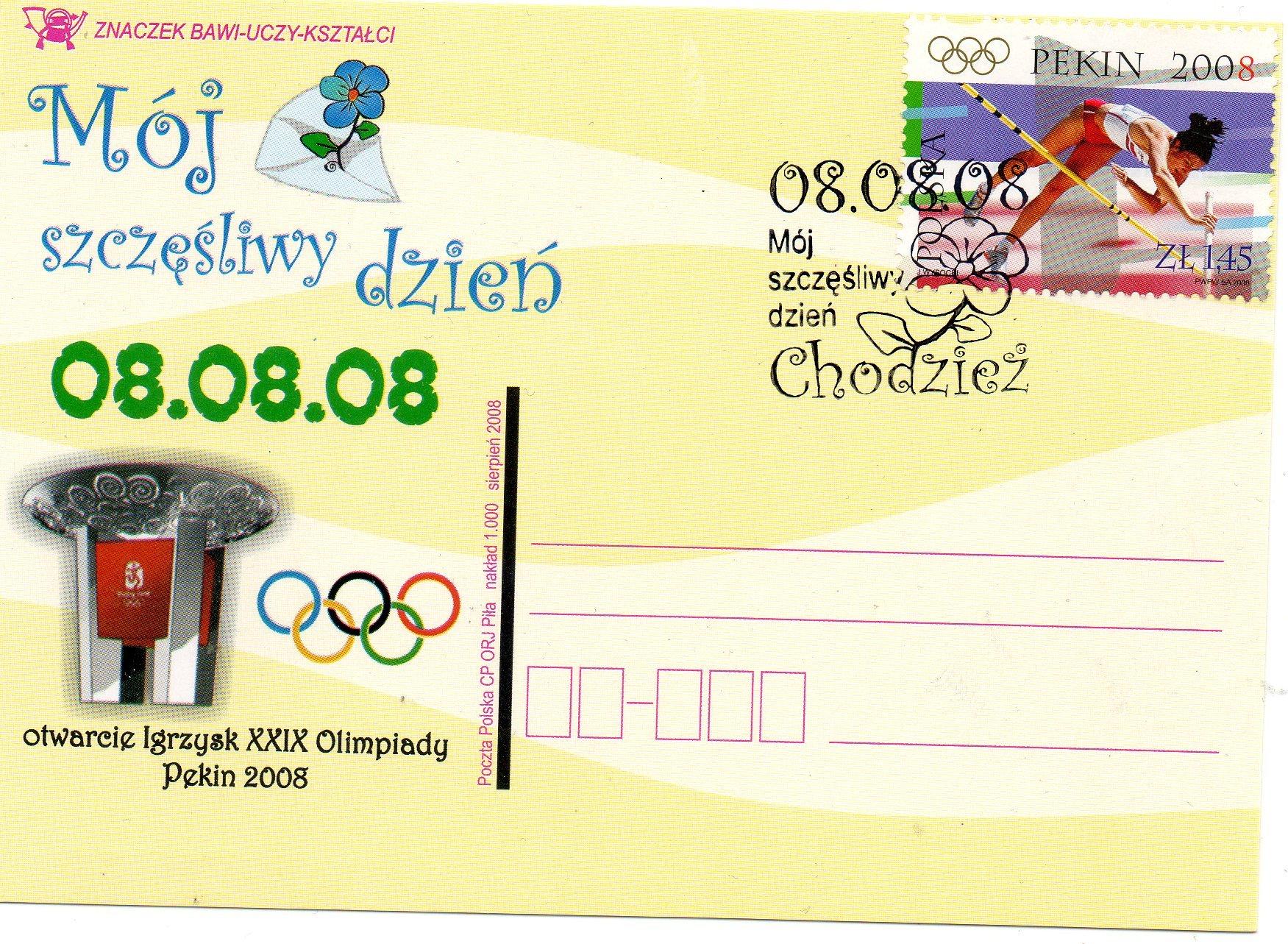 Otwarcie Igrzysk XXIX Olimpiady PEKIN 08.08.08