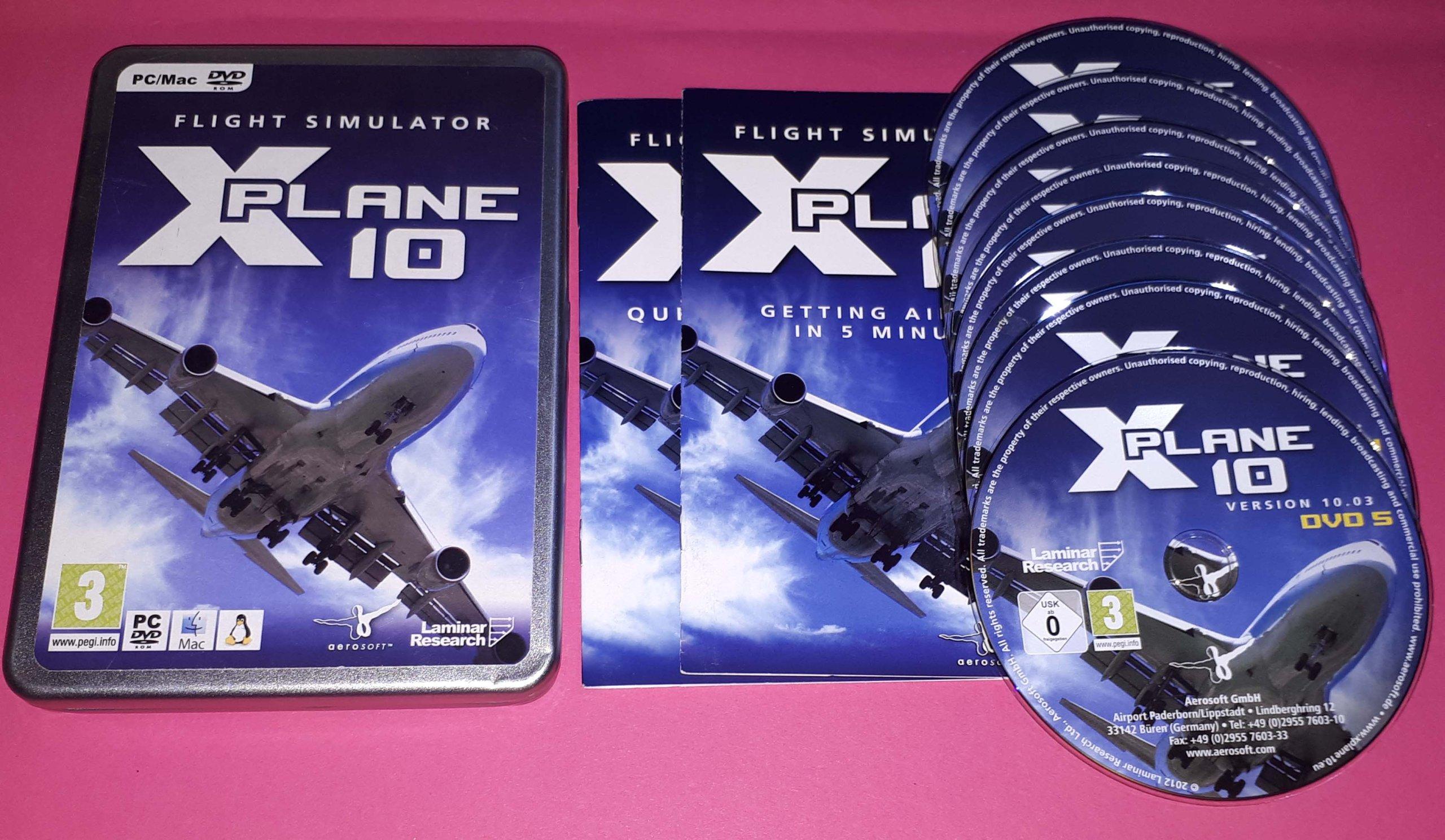 FLIGHT SIMULATOR X-PLANE 10 ANG MAC - 7528044665 - oficjalne