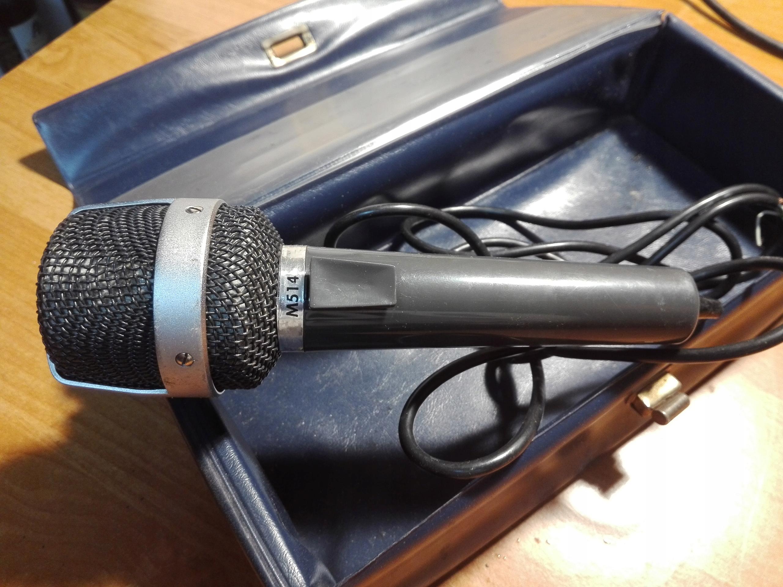 Mikrofon UHER M514