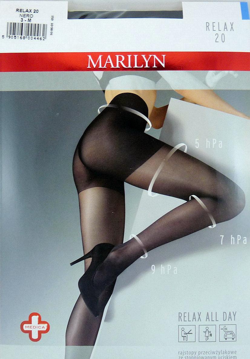 3fcec595b01ff2 Marilyn RELAX 20 R4 rajstopy visone przeciwżylakow - 7140735169 ...