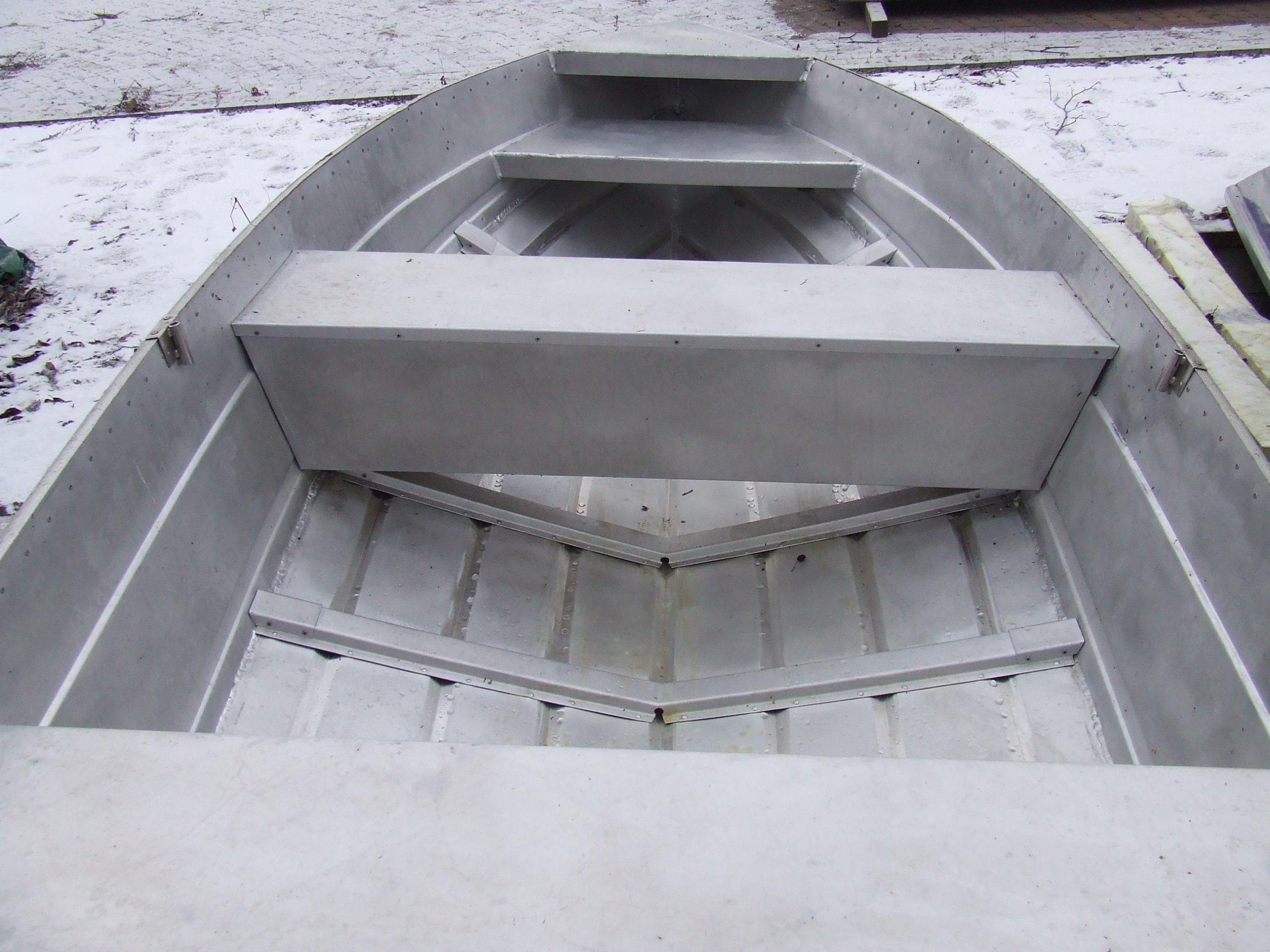 Łódź wędkarska aluminiowa BREMA 360 dziobowa