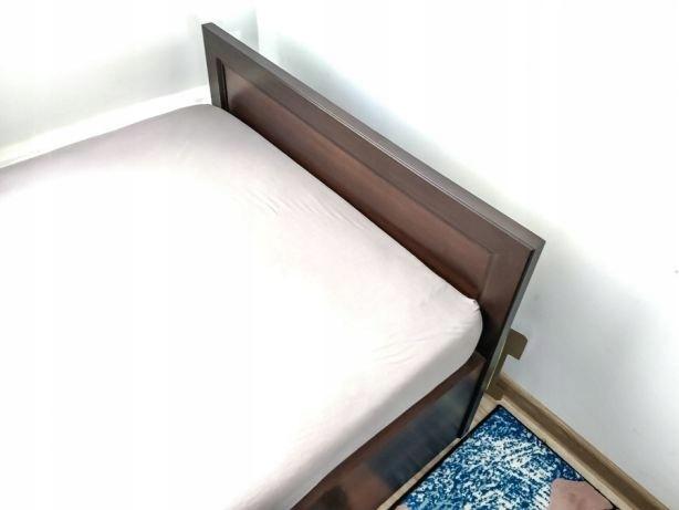 łóżko Bodzio Grenada Orzech Prawie Nowe 90x200 7457124647