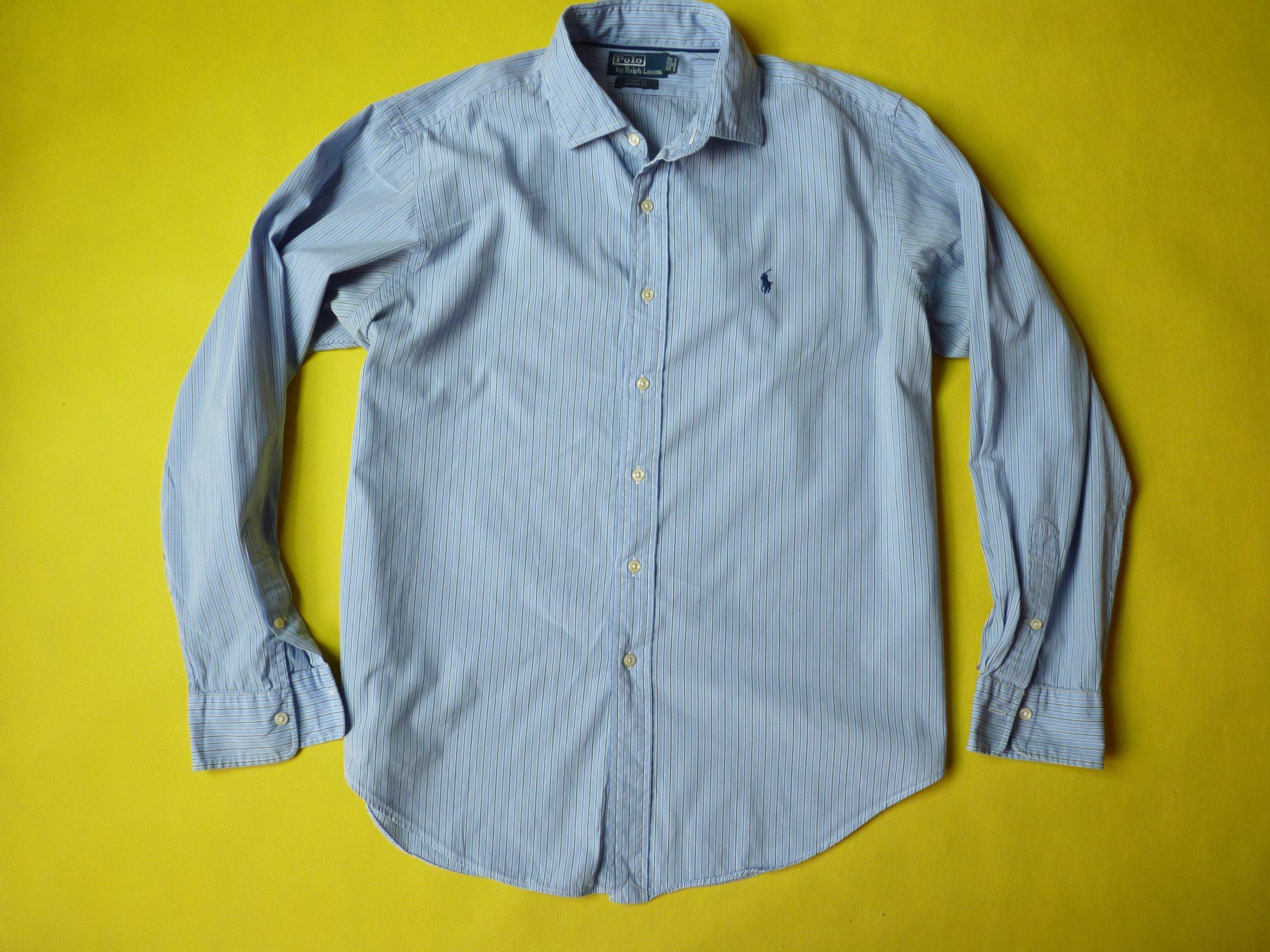 26c03b02f POLO RALPH LAUREN CLASSIC FIT koszula męska r XL - 7283697557 - oficjalne  archiwum allegro