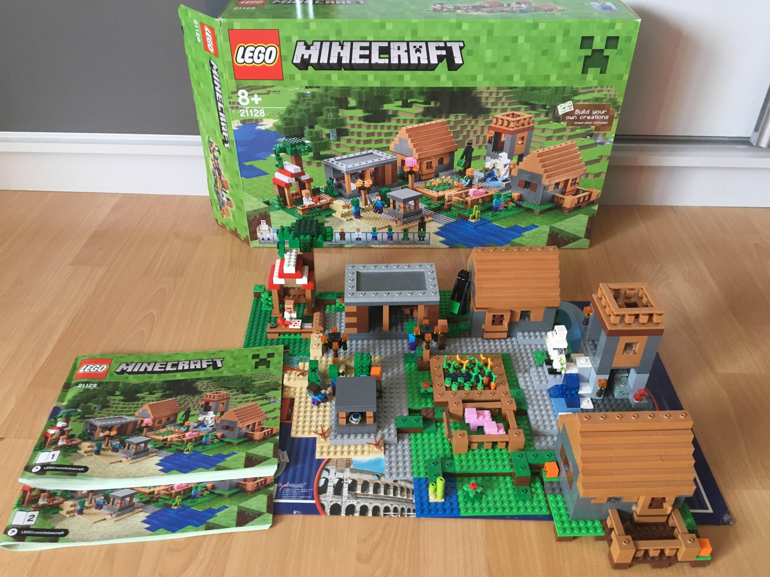 Lego Minecraft 21128 Wioska Okazja 7077159674 Oficjalne