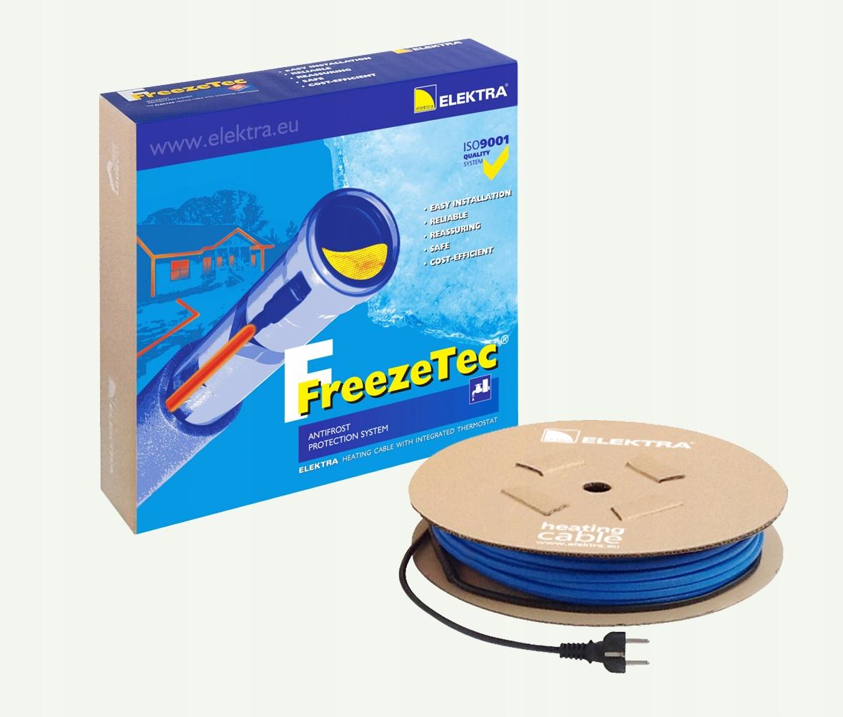 Przewód grzewczy FreezeTec 5 m -12 W/m