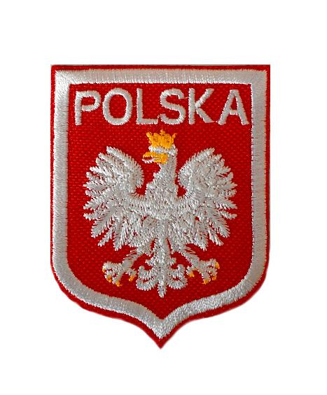 dba5910f3 Naprasowanka TERMO Naszywka Godło Polska 1 Orzeł - 7273228565 ...