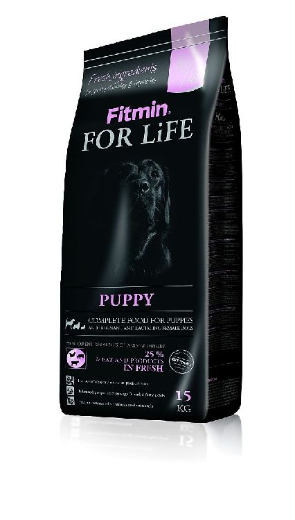 Fitmin for life PUPPY szczenięta junior 15kg