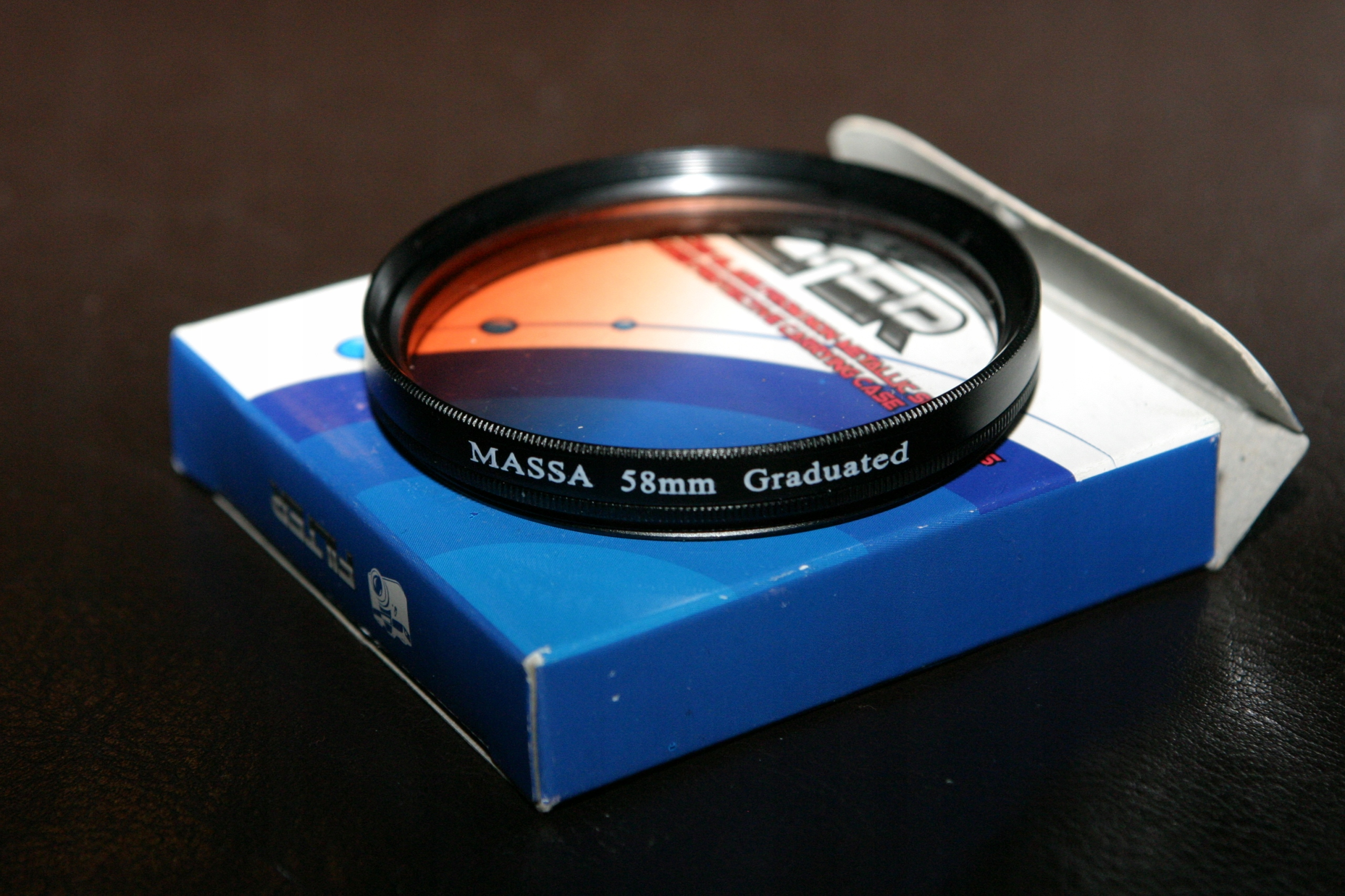 Massa Graduated 58mm połówkowy tabaczkowy