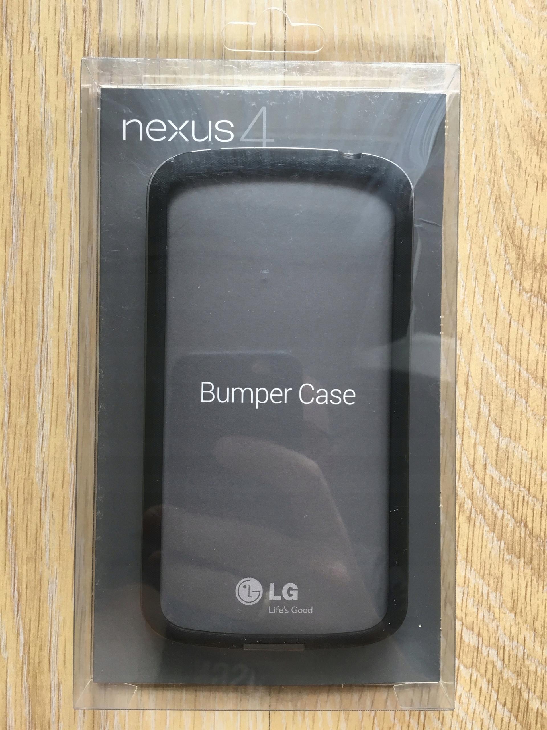 premium selection ea7c3 38d24 Nexus 4 Bumper Case ETUI oryginalny *LG*
