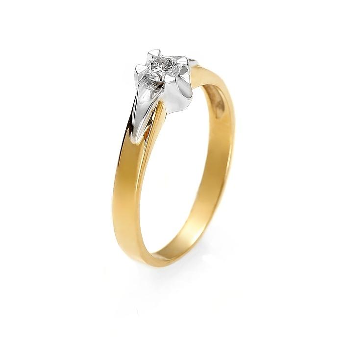 Pierścionek Zaręczynowy Diamor Z171 015ct Hsi 7285856888