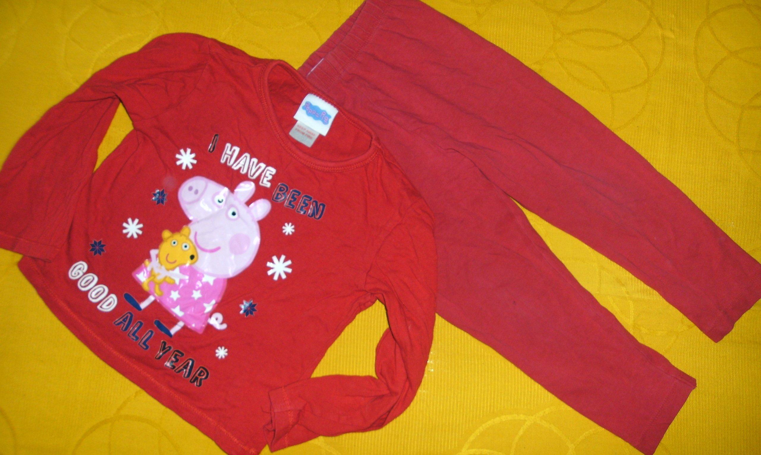 114c218a0a0c09 Piżama pidżama ŚWINKA PEPPA 92-98 cm 2-3 L - 7114425276 - oficjalne ...
