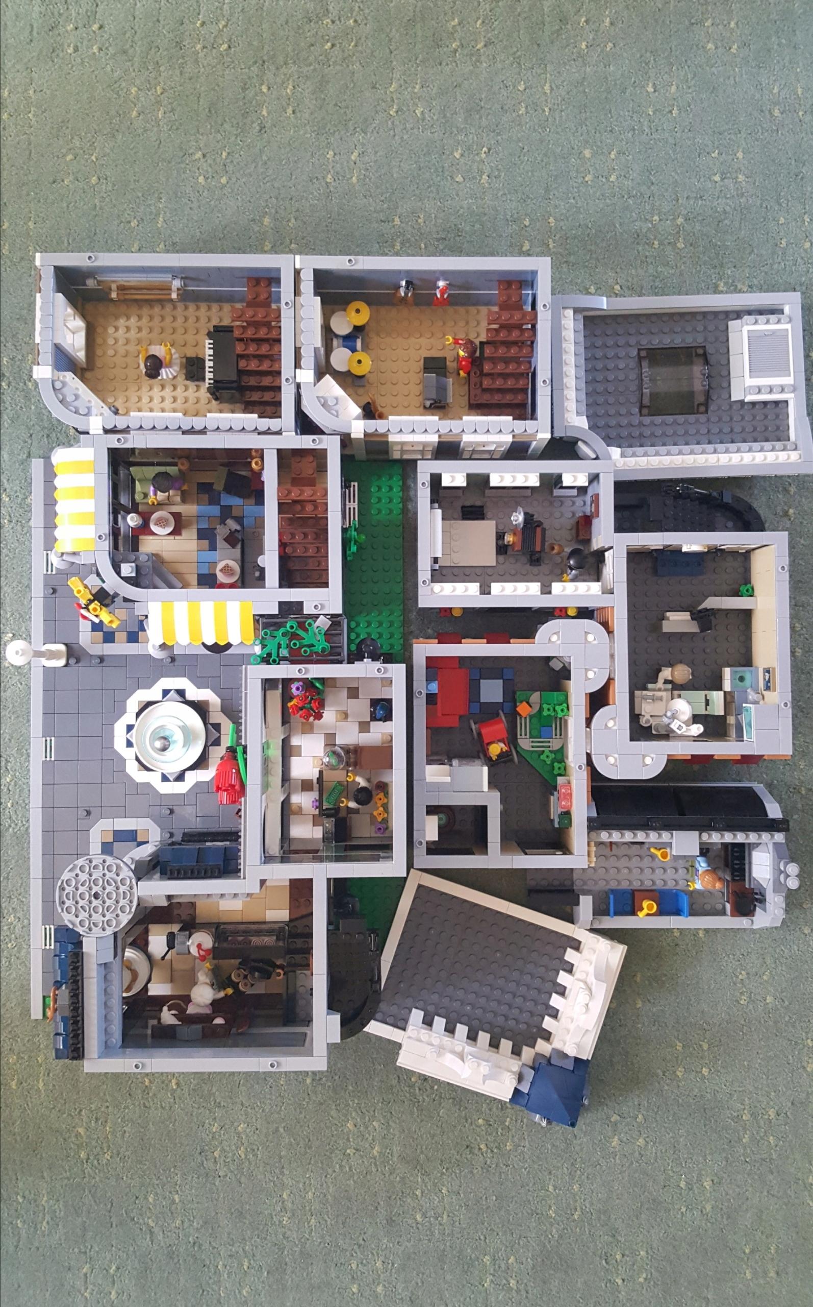Lego Creator Expert 10255 Plac Zgromadzeń 7523963900 Oficjalne