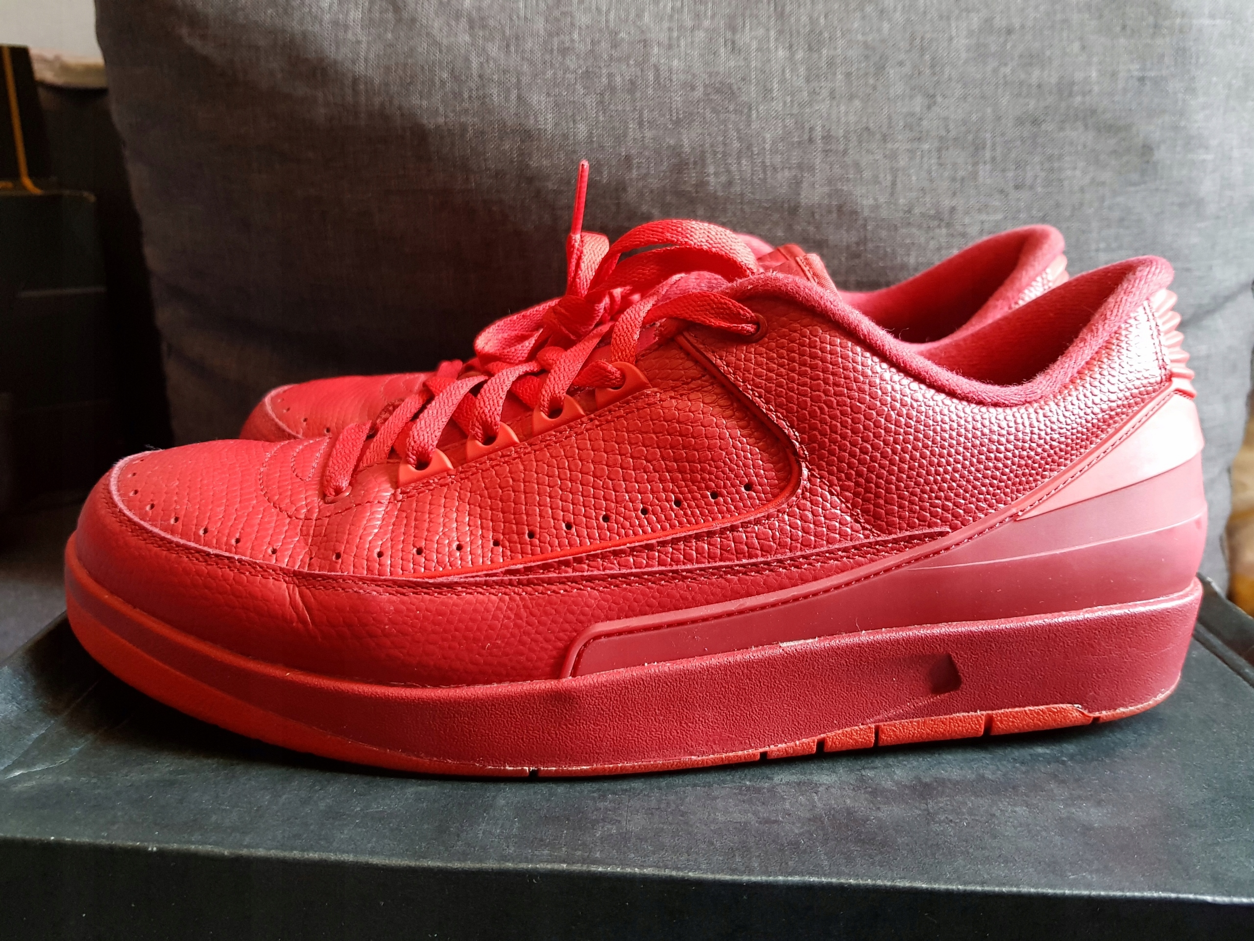 new products 2ab08 d3bf8 Buty Nike Jordan Retro 2 Low Gym red 46 30cm