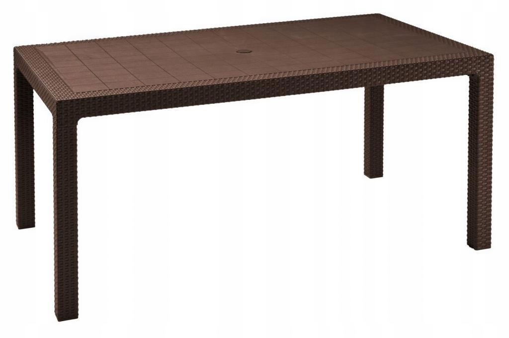 Stół ogrodowy CURVER Keter Melody brązowy