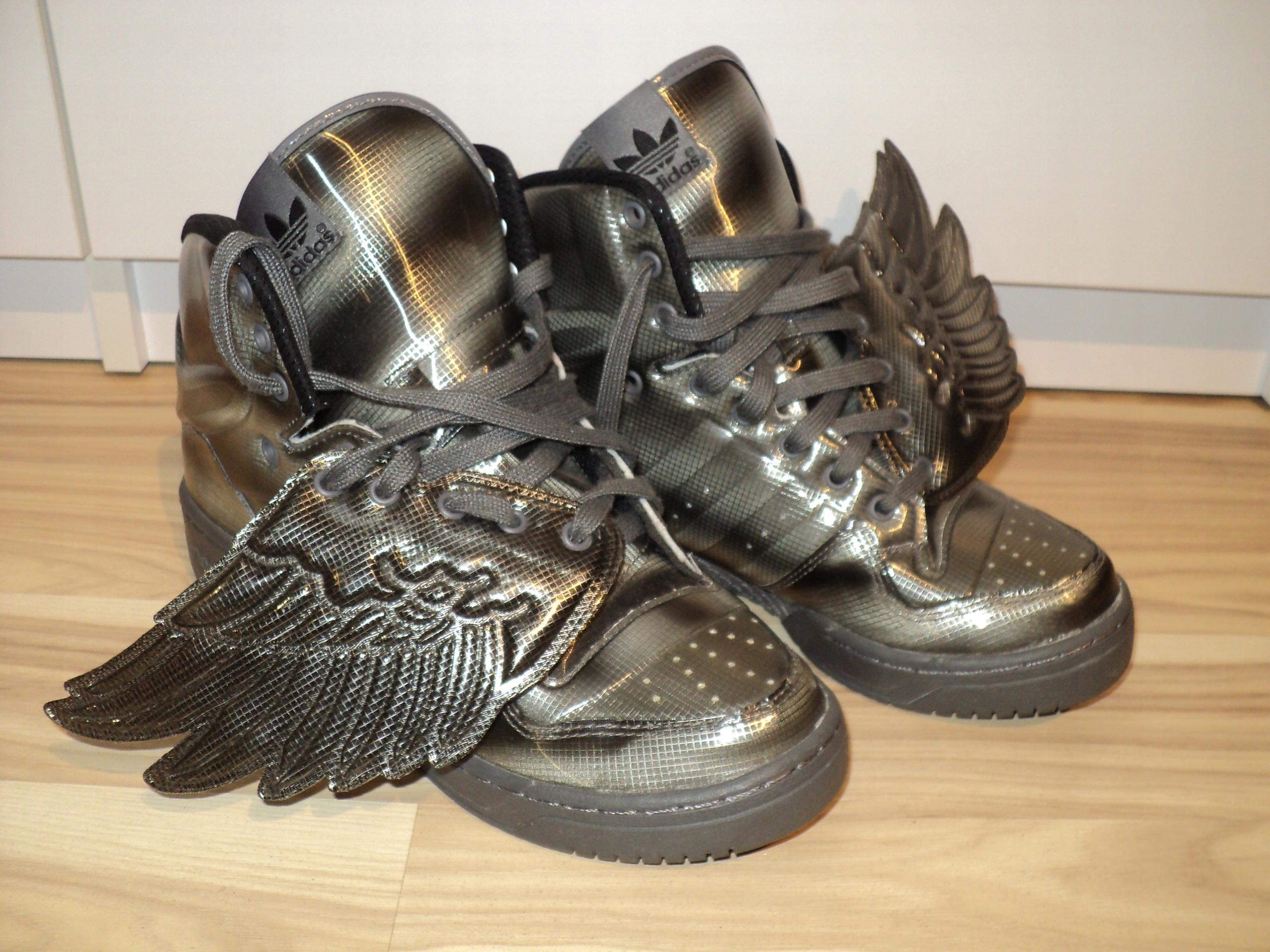 8a0e515f9f764 Buty Adidas Jeremy Scott j NOWE 40 grafit antracyt - 7675640216 ...