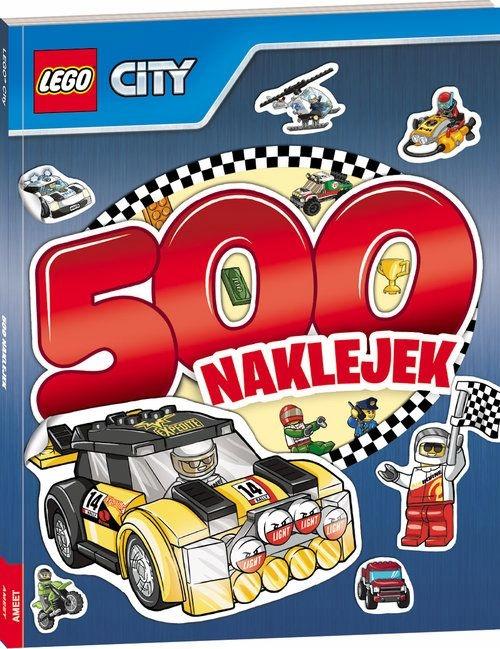 Lego City 500 Naklejek Promocja Nowa 7384833503 Oficjalne