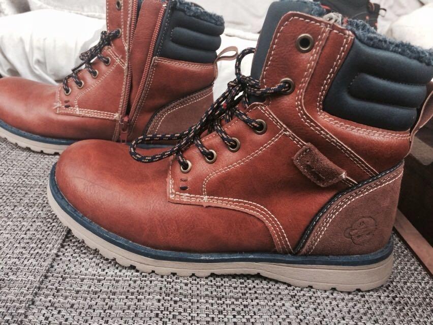 nowe tanie klasyczny styl przedstawianie buty zimowe ACTION BOY 36 CCC trzewiki
