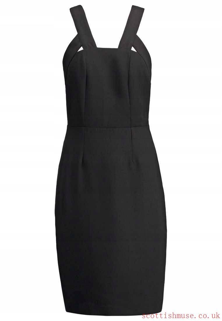 700a2227 sukienka KIOMI Cocktail dress r.40 czarna - 6725615579 - oficjalne ...