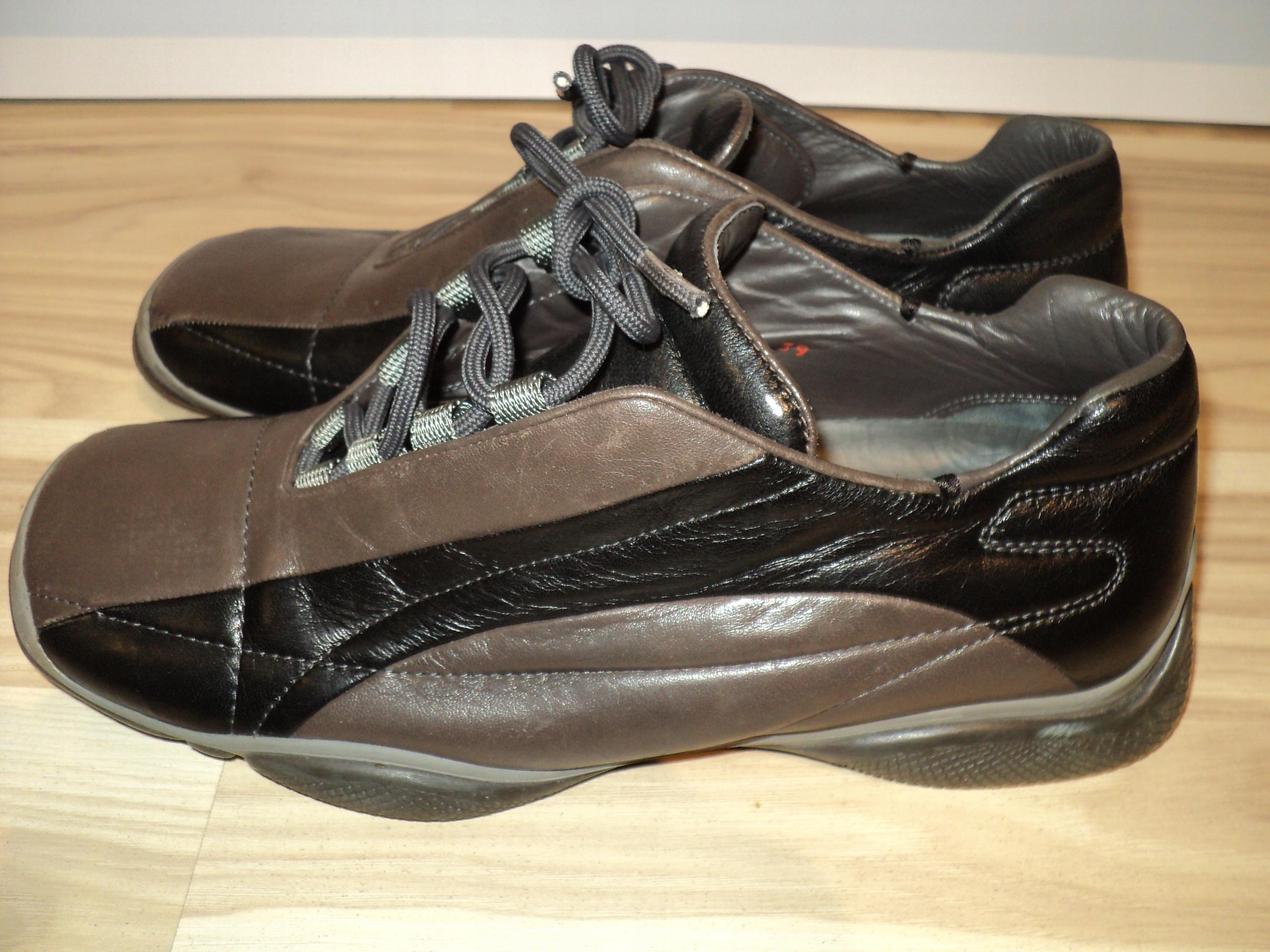 5840dc847510a PRADA buty nowe 39 ITALY skóra - 7675885601 - oficjalne archiwum allegro