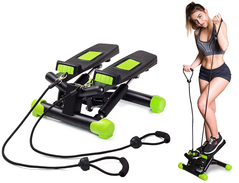 STEPPER SKRĘTNY Z LINKAMI STEPER FITKRAFT FITNESS
