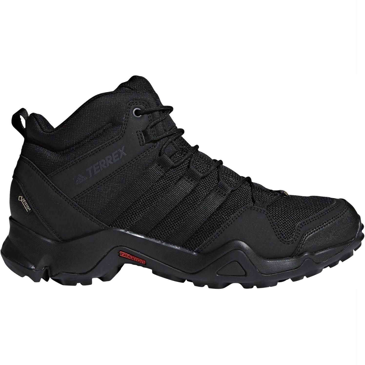 buty trekkingowe Adidas Terrex AX2R Mid GTX CM7697, męskie, Czarne