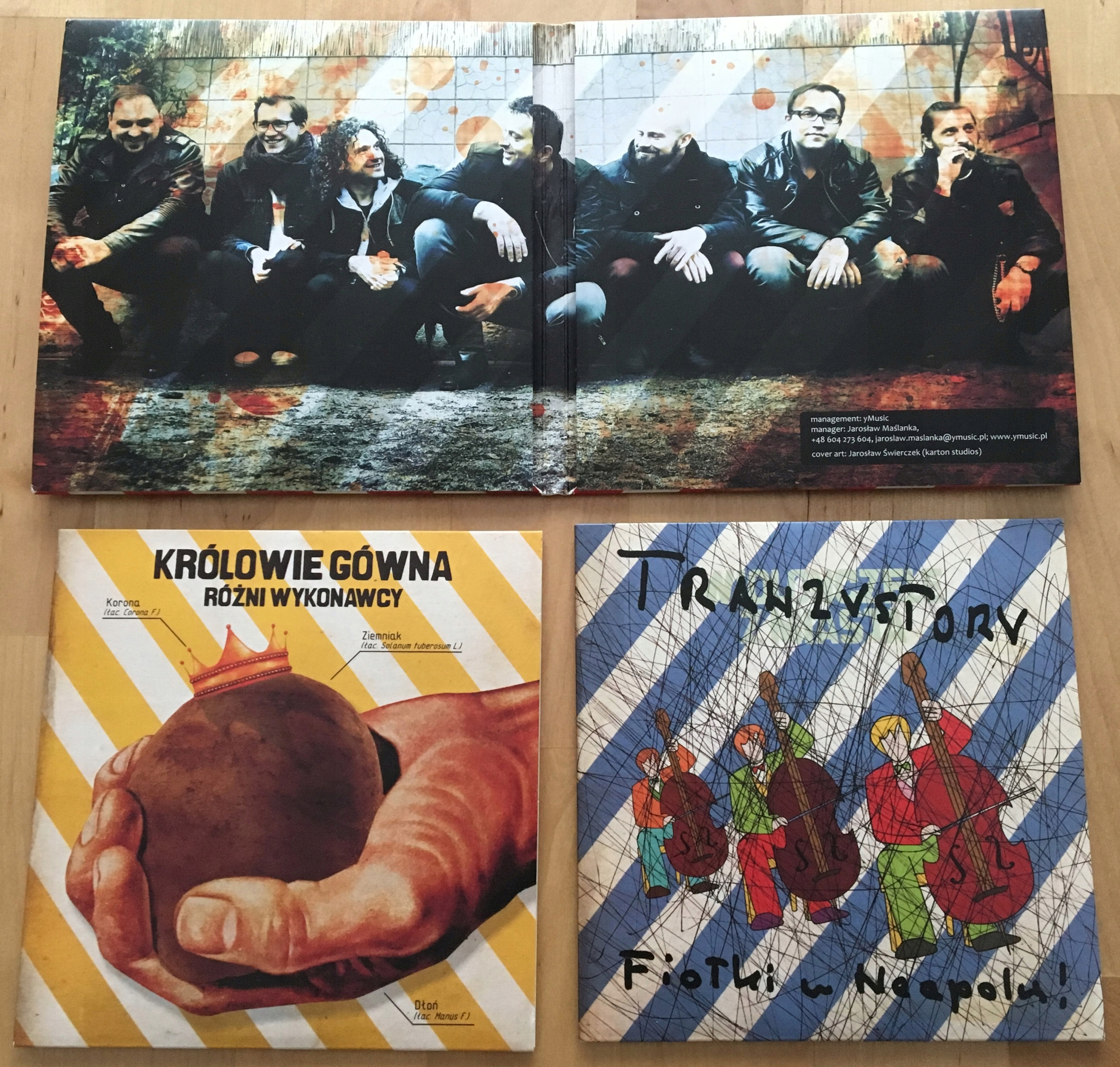 Polskie Gówno, CD, Tymon Transistors, soundtrack