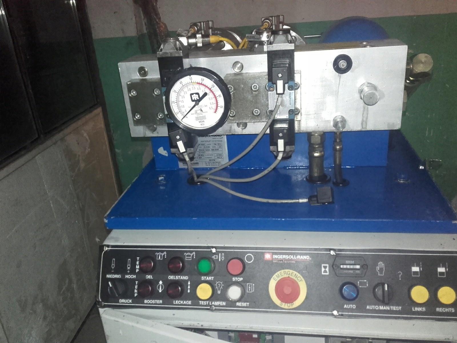 Pompa do wycinarki waterjet cnc