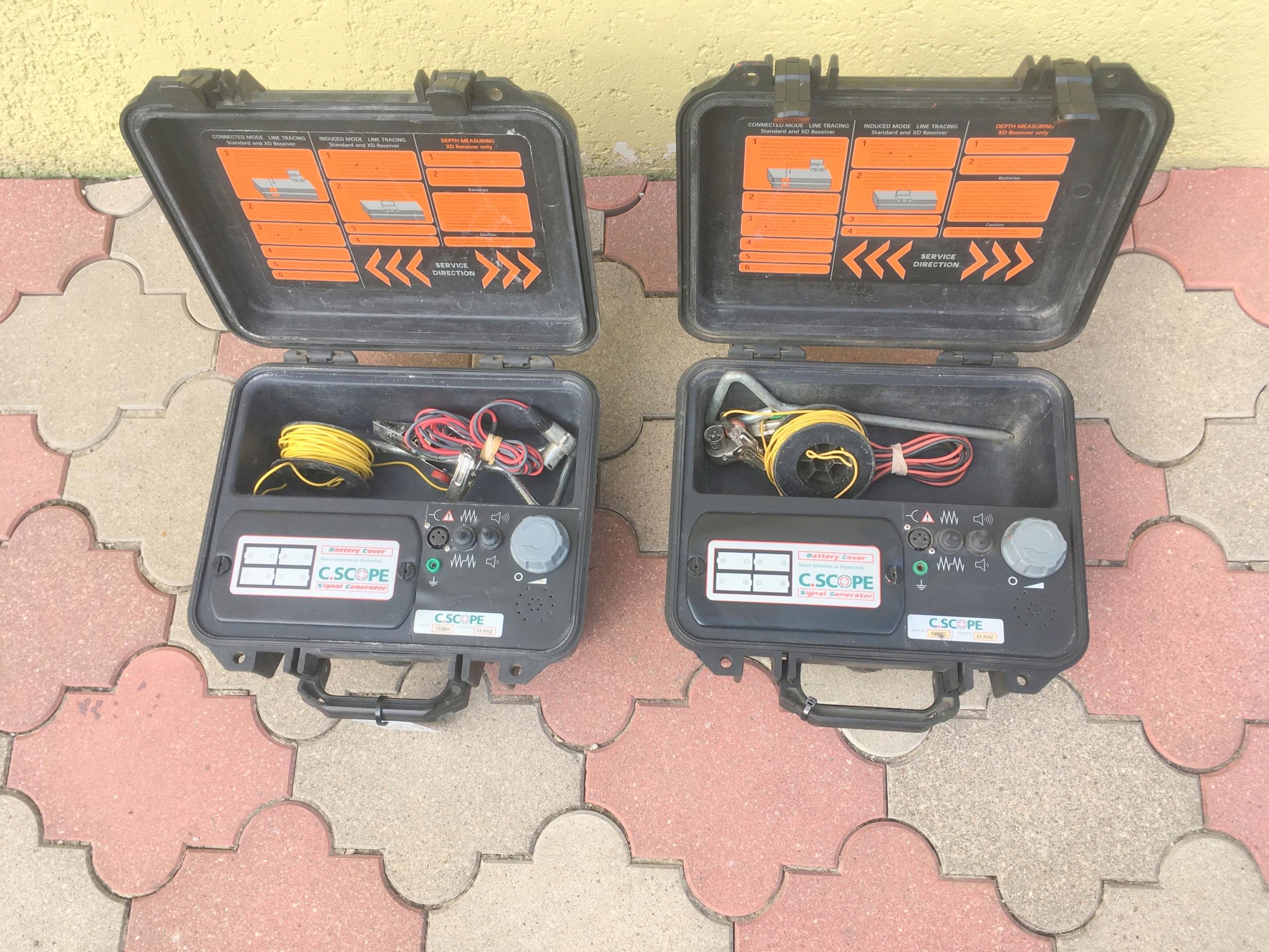 Generator sygnału wykrywacz instalacji C.Scope 33