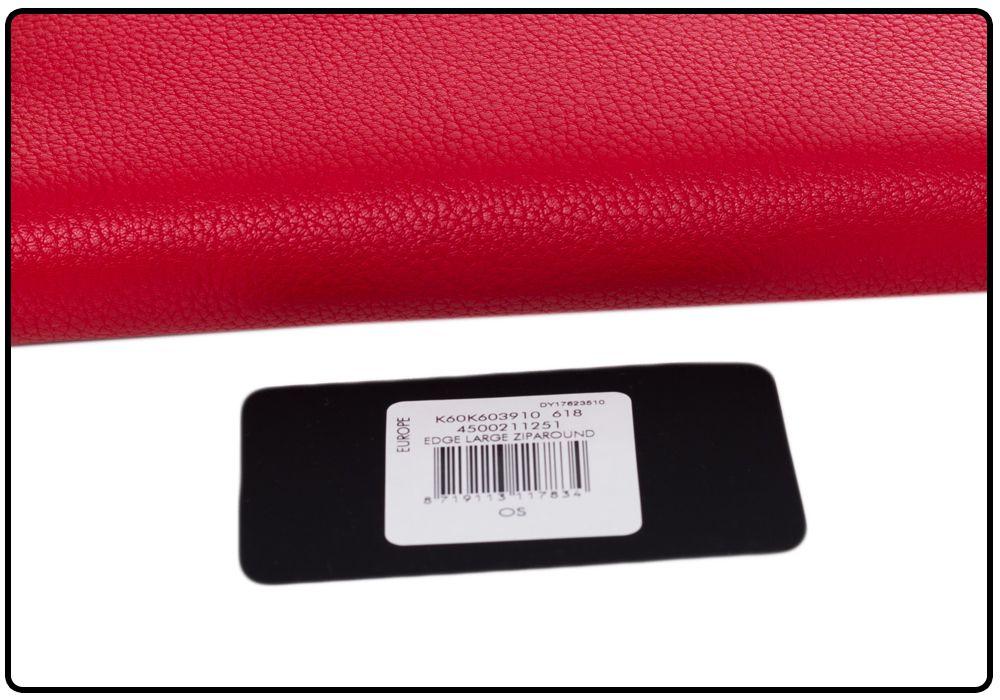 5adf97b3fd57a CALVIN KLEIN PORTFEL DAMSKI EDGE LARGE RED - 7226134873 - oficjalne ...
