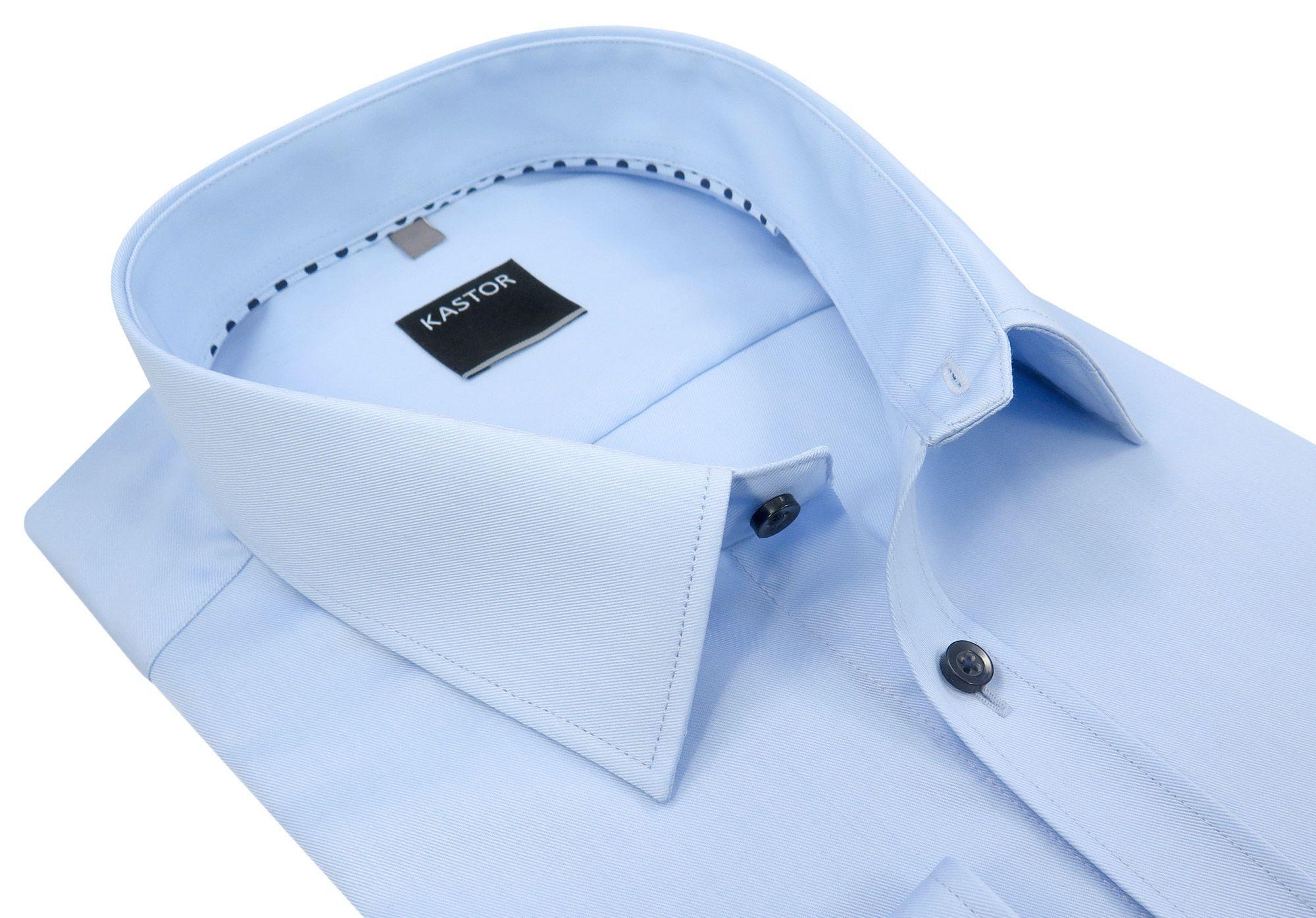 e4b79d3d7 Błękitna koszula męska KASTOR K59 188-194 50-XXXL - 7074136876 ...