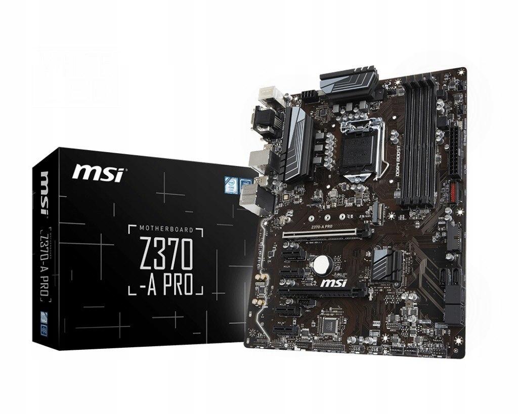 Z370-A PRO s1151 Z370 4DDR4 8USB3/M.2 ATX