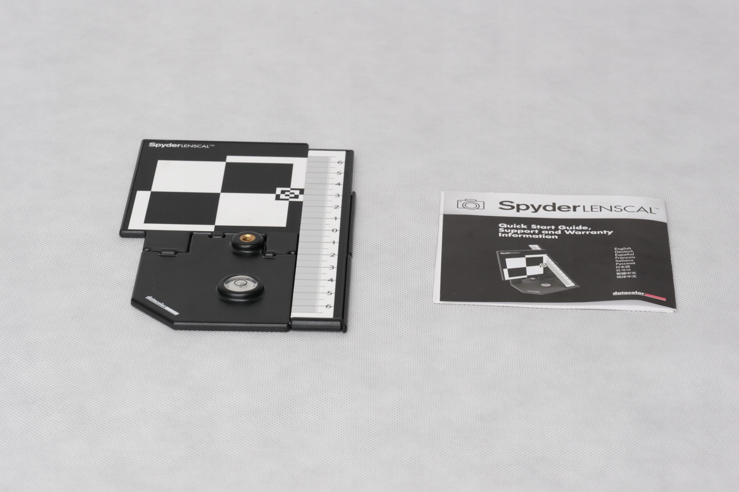 Datacolor Spyder LensCal - do kalibracji AF