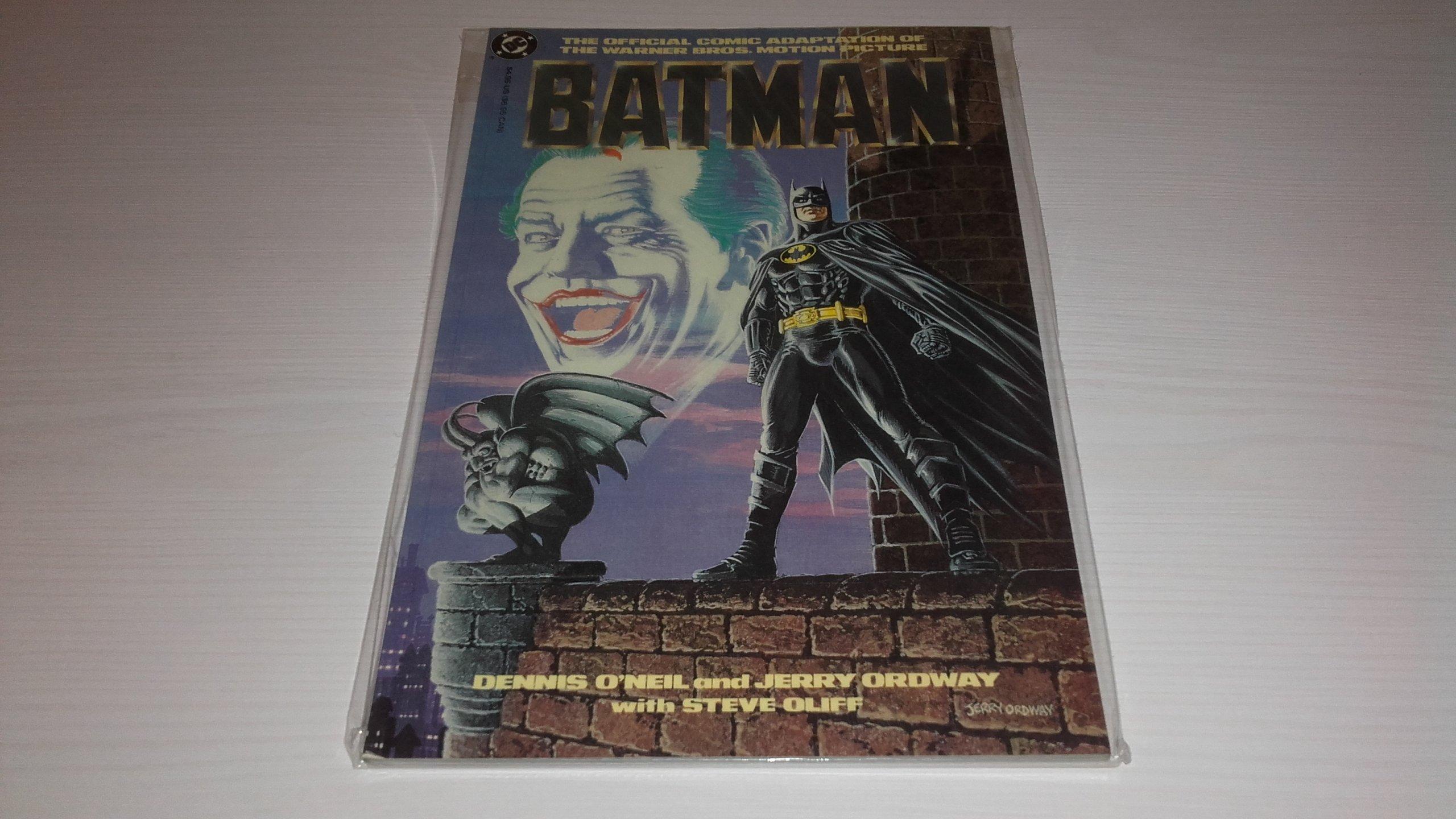 BATMAN. KOMIKS ADAPTACJA. KEATON, TIM BURTON