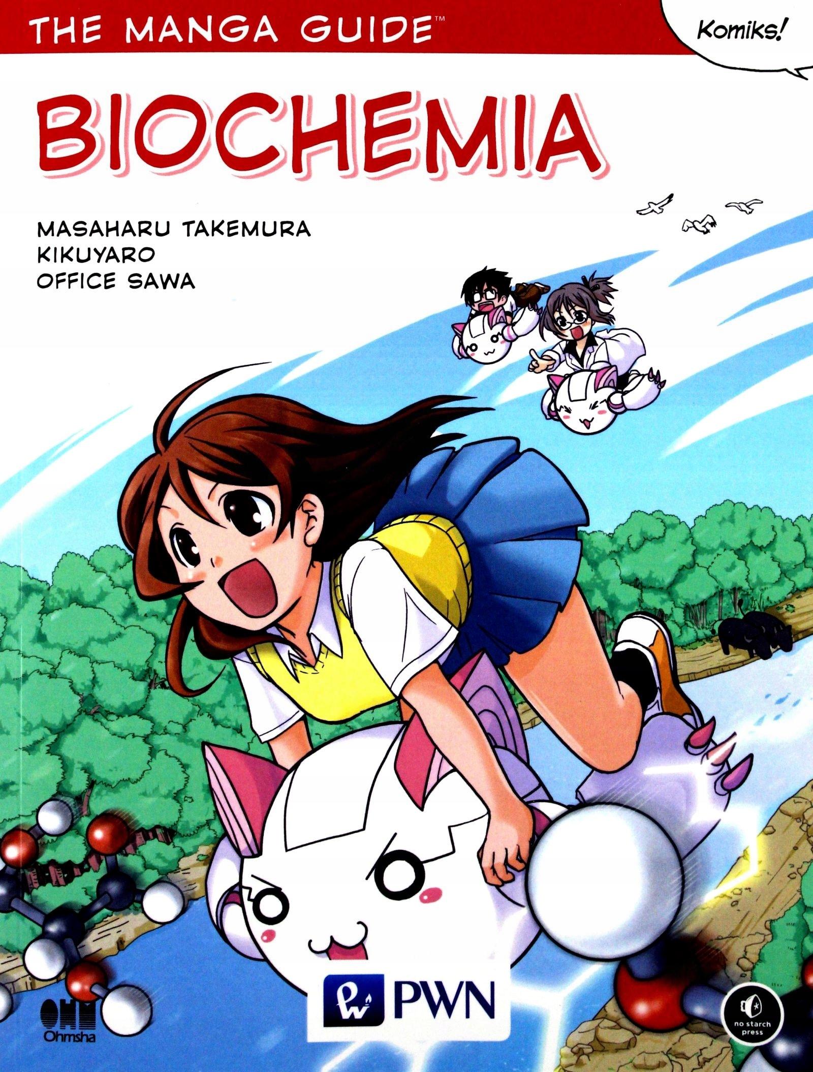 Znalezione obrazy dla zapytania manga biochemia