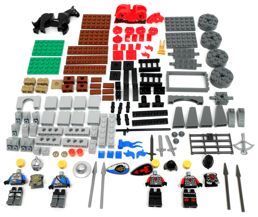 Klocki Lego Castle 70402 Napad Na Wartownię 7047757344 Oficjalne