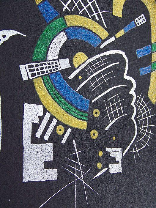 Kandinsky Kopia obrazu na blasze ... Grawerka