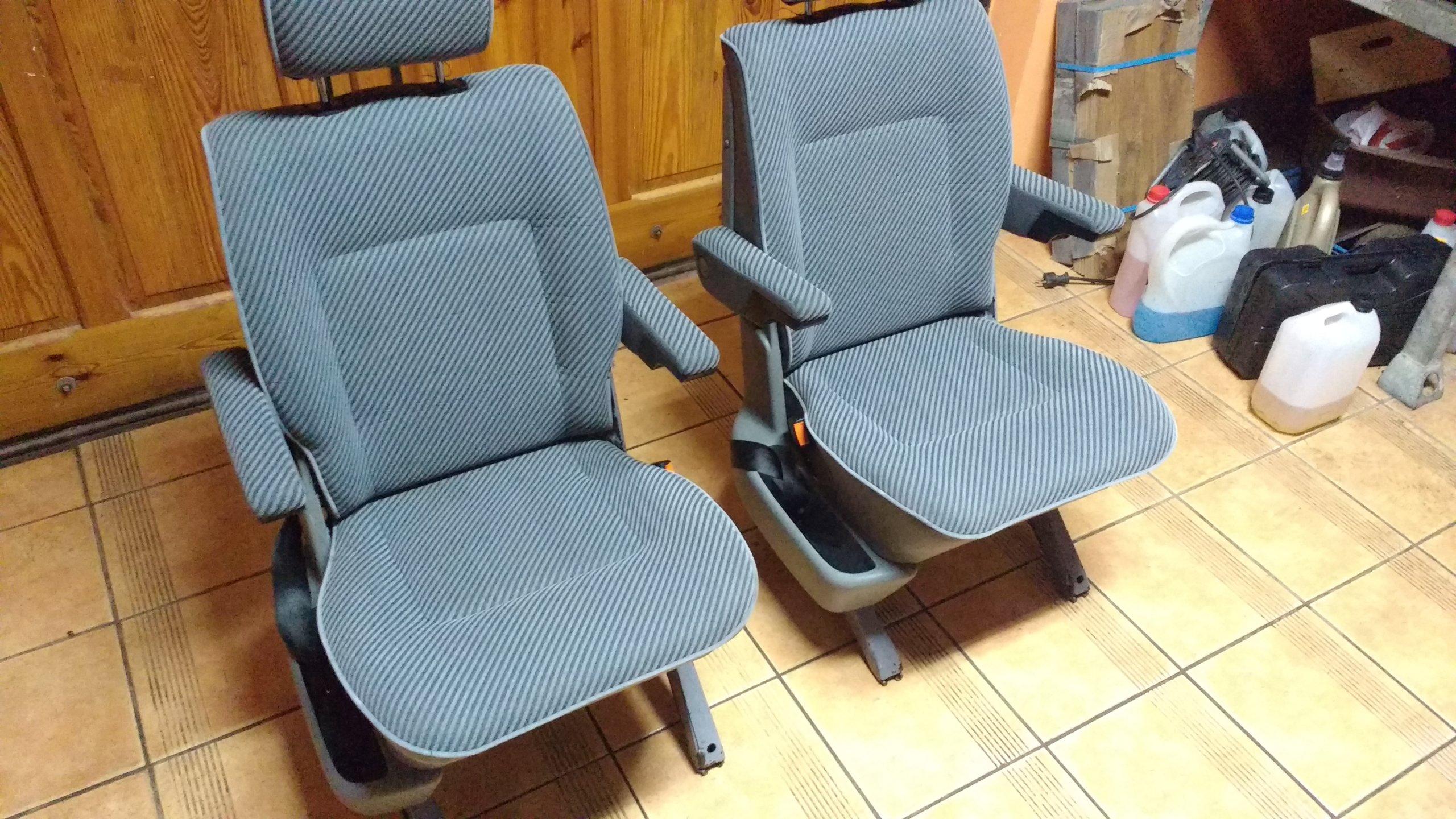 Fotele Kapitańskie Vw T4 Multivan Komplet 2szt 7155073156