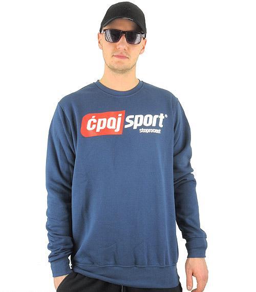 Bluza STOPROCENT cpajsport navy blue, rozmiar:XXL
