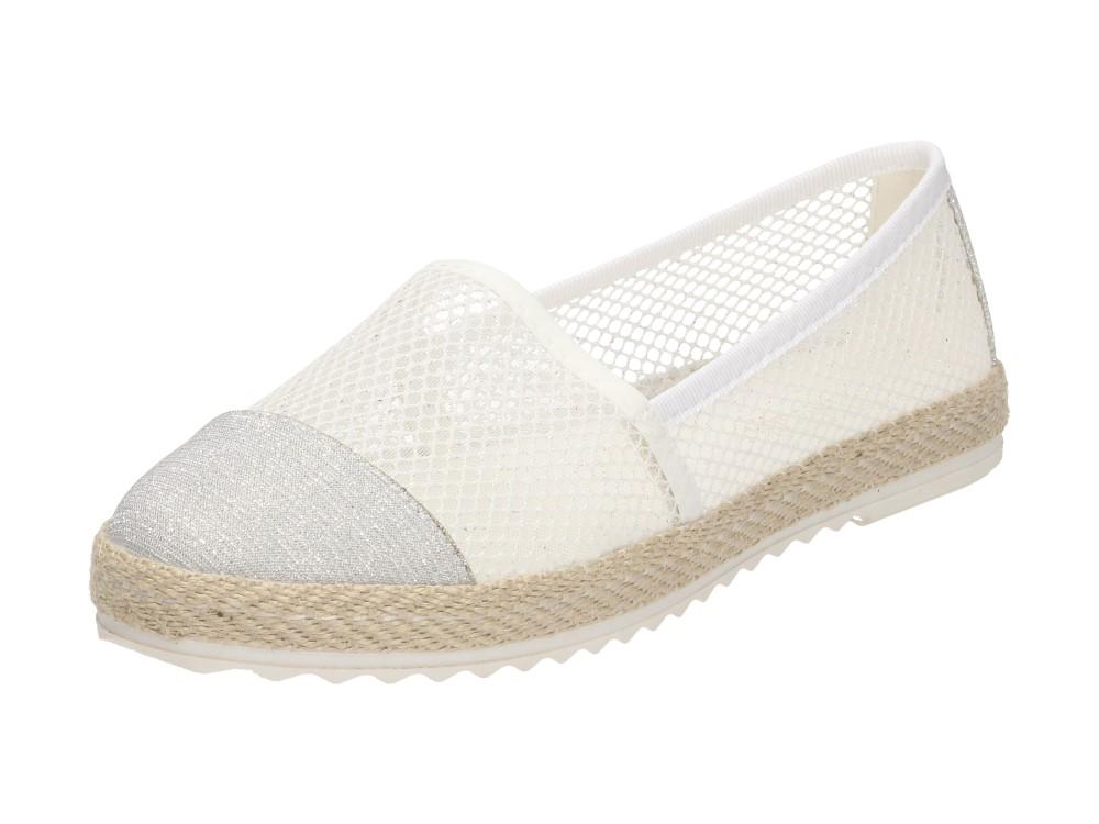 Białe przewiewne buty damskie VINCEZA 2560 r38 7028817499