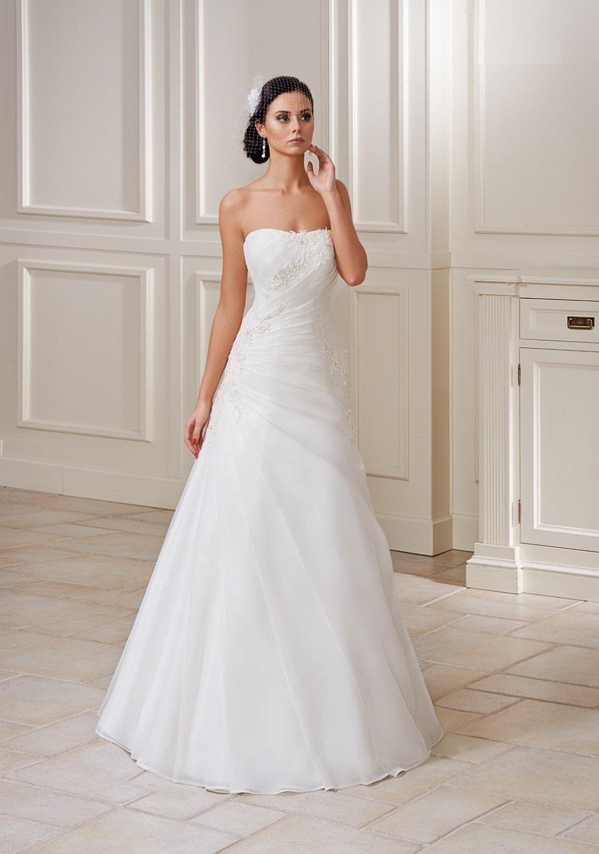 347034c619 Piękna suknia ślubna - 7355192836 - oficjalne archiwum allegro