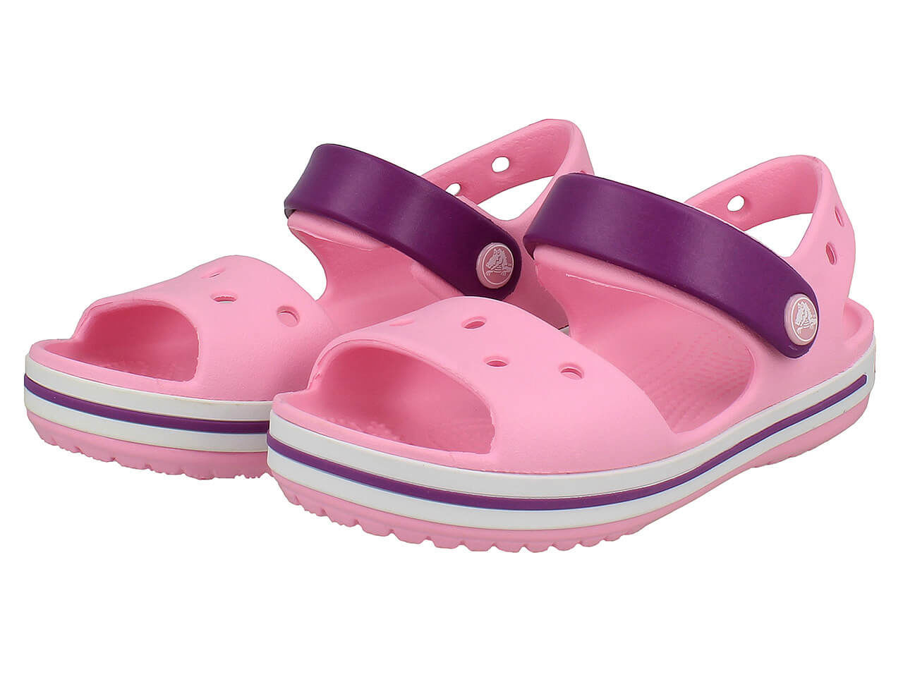 zaoszczędź do 80% tani Najnowsza moda Sandały dziecięce Crocs Crocband 12856-4FV # 27/28 ...